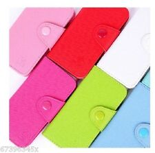Wallet Card Slot Purse Flip Leather Case Pouch Cover FOR Sony Xperia Cell PHONES
