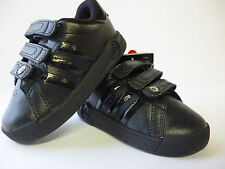 Adidas Toddler Infant Trainers Black Velcro Sizes 5,6  BTS Class II New £16.99