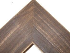 """2.5"""" Country Whiskey Brown Rustic Distressed Wood Picture Frame-Standard"""