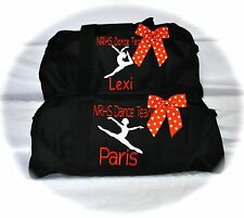 Personalized Sports Gym Dance Cheer Large Duffle Bag 11 colors FREE Embroidery!!