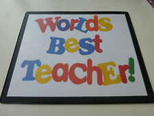 Teacher Gifts - Keyring, Mousemat, Coaster, Magnets