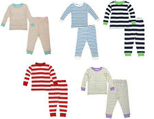 NEW! Under the Nile 100% Organic Cotton Long Sleeve Baby Long Johns Pajamas Pjs