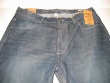 PD&C Distressed Denim Blue Jeans Slim Straight Choose 46/48W X 32L Big & Tall