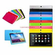 """Android 4.4 7"""" A23 Dual Core Dual Camera 4GB  Tablet with Silicone case"""