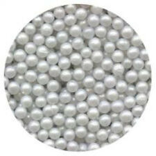 Edible Sugar Pearls  4MM - Cakes, Cupcakes, Cake Pops - 3 oz.