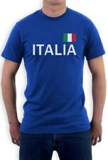Italy Soccer T-Shirt National Soccer Team Italia Flag World Cup 2014 Fan Shirt