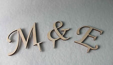 Wedding Cake Topper Initial Accessory Monogram Birthday Cake Decoration Supplies