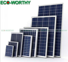 100W 160W Poly / Mono 5W 10W 20W 40W 50W 60W 12V Solar Panel RV Boat Off Grid