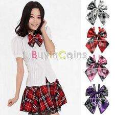 Hot New Fashion Man Woman Satin Multistyle Wedding Party Necktie Casual Bow Tie