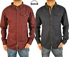 Humor Mens Jeans Long Sleeve Shirt in 2 Colours Smart Casual Overshirt Top