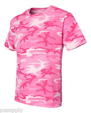 camo t-shirt pink woodland camouflage code v s&s 3906
