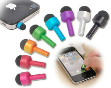 Mini Stylus Touch Pen Anti Dust Earphone Jack Plug for iPhone iPad iPod Samsung