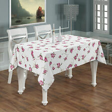 Quality Polyester Fabric Tablecloth in Different Sizes, Rectangular Or Round
