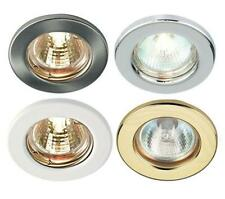 Mains 240V GU10 LED Fixed Ceiling Light Spotlights Downlights Recessed Fitting