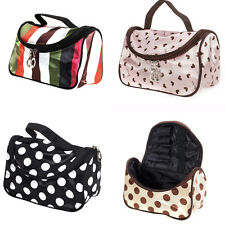 Pattern Makeup Cosmetic Bag Case Hand Tote Pouch Toiletry Zip Organizer Wash