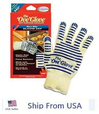 THE 'OVE' GLOVE HOT SURFACE HANDLER WITH NON-SLIP SILICONE GRIP - 540°F USA Ship