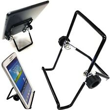 PORTABLE MULTI-ANGLE ADJUSTABLE METAL HOLDER STAND FOR VARIOUS TABLETS