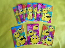 SMILEY NOTE BOOKS - Various Quantities - PARTY LOOT BAG TOYS FAVORS