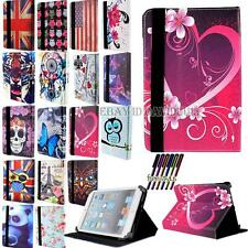 """Universal 8,9 """"a 10,1"""" Folio Pelle Stand Case Cover per Apple Tablet Android"""