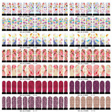 12pcs/sheet Nail Wraps Stickers Self Adhesive Polish Foils Decoration Art Decals