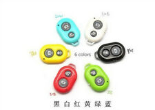 Bluetooth Remote Control Self-timer Camera Shutter fr iPhone Samsung IOS Android
