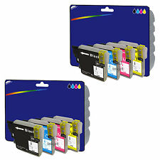 Choice of Any 8 Compatible Printer Ink Cartridges for Brother LC1280 Range