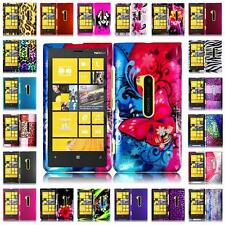 For Nokia Lumia 920 Hard Snap on Two Piece Cover Case + LCD Screen Guard