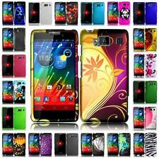 For Motorola Droid Razr HD XT926 Hard Snap on Two Piece Cover Case + LCD Screen