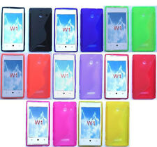 LOTS OF 3 items FOR Huawei Ascend  W1 H883G Phone Cover ULTRA THIN TPU Gel Case