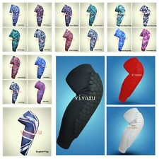 Knee Pad strong Honeycomb Crashproof BasketBall Protective Gear Long Leg Sleeves