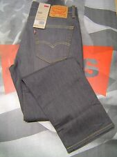 LEVI'S 505 MEN'S REGULAR FIT ZIP FLY LIGHTWEIGHT STRETCH JEANS SCOOTER GREY