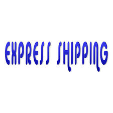 RUSH order - Add express shipping & processing to order (order need in 7-9 days)