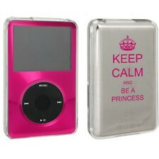 For Apple iPod Classic Hard Case Cover 80gb 120gb 160gb Keep Calm Be A Princess