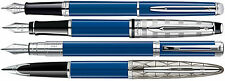 Waterman Blue Obsession Fountain Pens Carene Perspective Expert Hemisphere 3 Nib