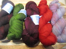 1 sk Dream in Color STARDUST glitzy yarn - choice of 11 colors