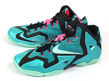 Nike LeBron XI 11 South Beach LBJ Sport Turquoise/Medium Mint-Black 616175-330
