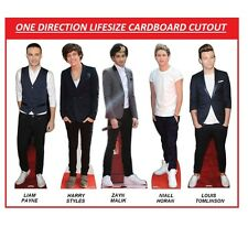 SALE 1D STANDEE ONE DIRECTION STANDING LIFESIZE CARDBOARD CUTOUT STAND