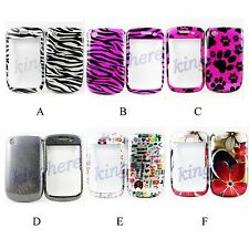 Elegant Plastic Hard Shell Phone Back Case Cover For BlackBerry Curve 8520 8530