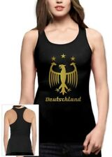 Deutschland Gold 2015 Racerback Tank Top Cup Germany Football Soccer Champions