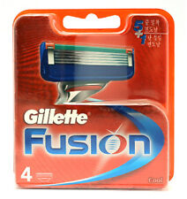 Genuine Gillette Fusion Razor Blade Refills Cartridges 1, 4 , 8, 16,or 24 Blades