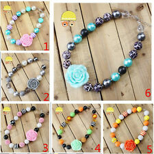 factory sale free shipping chunky fashion necklace bubblegum beads kids jewelry