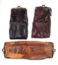 Woman's Patch Leather Cigarette Case / Wallet / Coin Purse - Choice of Color