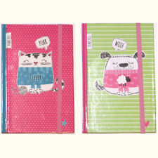 Cute Chunky Cats & Dogs A6 2015 Week Day to Page Diary Pocket Journal CHDP15
