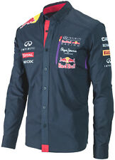 AUTHENTIC PEPE JEANS INFINITI RED BULL RACING F1 TEAM 2014 MEN LONG SLEEVE SHIRT