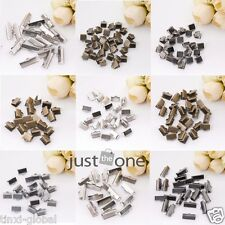 Good Quality Over Clip Tips Cord Crimp Ends Bead Cap 6mm,8mm,10mm,16mm,20mm,25mm