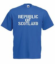 REPUBLIC OF SCOTLAND funny scottish independence tee New Mens Womens T SHIRT TOP