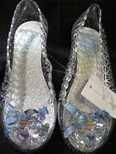 DeLuXe~CINDERELLA~LiGhT Up + JeWeLs~ShOeS~7/8 ~NWT~Disney Store~2012