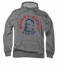 New Adult Rocky Mighty Mick's Gym French Terry Pullover Hoodie Sizes S-3XL
