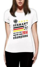 Germany World Cup Champions Women T-Shirt Soccer National Team 2014 Winners Top