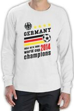 Germany World Cup Champions Long Sleeve T-Shirt Soccer Top Team 2014 Winners